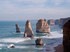 Stock Photo of twelve apostles in australia
