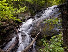 Overall run waterfall Stock Photos