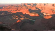 Stock Video Footage of Desert Canyon sunrise Time-Lapse