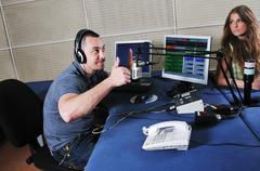 Radio dj Stock Photos