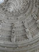 Intricate carved marble ceiling Stock Photos