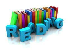 Stock Illustration of reading