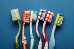toothbrush - stock photo