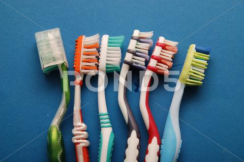 Stock photo of toothbrush