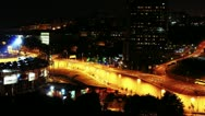 Time Lapse of Busy Highway in Istanbul, Turkey - 4K Stock Footage
