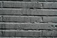 Stock Photo of Painted Brick Wall Texture