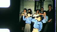 Stock Video Footage of RINGING IN THE NEW YEAR! People Celebrate 1960s Vintage Film Home Movie 3516
