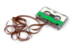 Hi-fi audio cassette Stock Photos