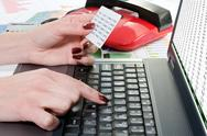 Stock Photo of online banking concept