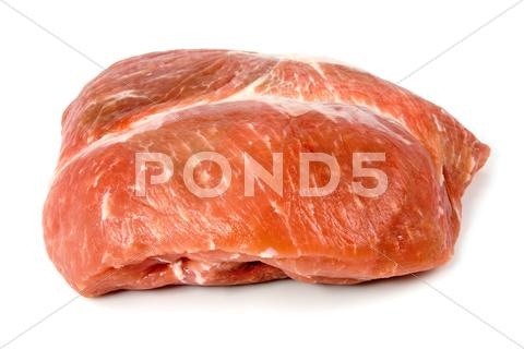 Stock photo of red raw meat
