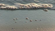 Italy - Sunrise - Beach Stock Footage