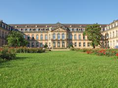 Neues schloss (new castle), stuttgart Stock Photos