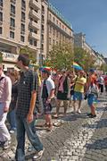 Prague pride pararde 2012 Stock Photos