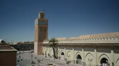 Saadian Tombs in Marrakech, Morocco. - stock footage