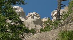 Mt. Rushmore - Thomas Jefferson Stock Footage
