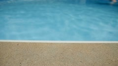 Swimming Pool Dolly Stock Footage