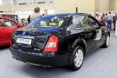 Motor show Stock Photos