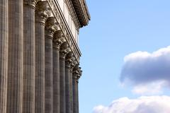 Classical Corinthian Order Colonnade - stock photo