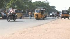 Street Scene in Madurai, India Stock Footage