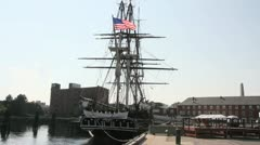 USS Constitution Stock Footage