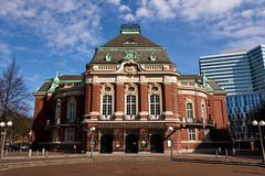 Laeiszhalle Concert Hall Hamburg, Germany - stock photo