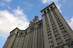 Manhattan Municipal Building - stock photo
