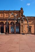 Spider Sculpture at the Kunsthalle Hamburg - stock photo