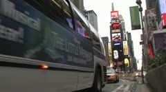 Times Square NYC - stock footage