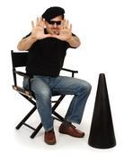 The director Stock Photos