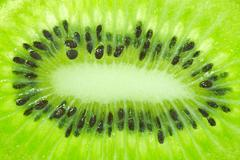Stock Photo of closeup of kiwi as a background