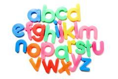 alphabet letters - stock photo
