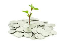 Stock Photo of financial growth concept