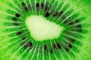 Kiwi fruit close-up Stock Photos