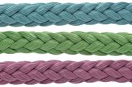 Stock Photo of three color ropes