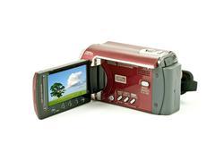 Stock Photo of digital video camera