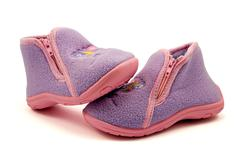 warm baby shoes - stock photo