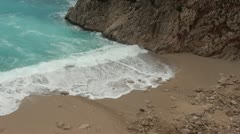 Stormy bay Stock Footage