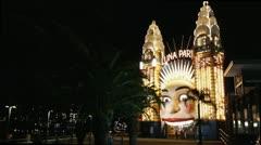 Luna park Stock Footage