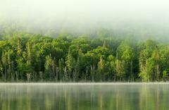 Stock Photo of morning lake