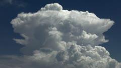 Cloud Buildup Breakdown Time Lapse - stock footage
