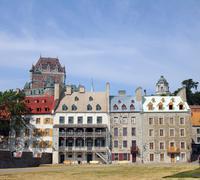 quebec city - stock photo