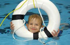 lifesaver - stock photo