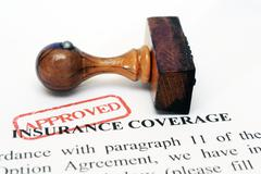 Stock Photo of insurance coverage