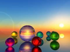 Sphere Stock Illustration