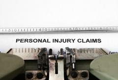 personal injury claim - stock photo