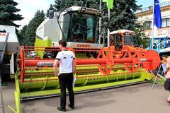 International agro-industrial exhibition - stock photo