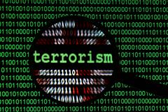 web terrorism - stock photo