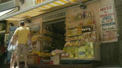 Shopping in Sorrento (four) Italy Stock Footage