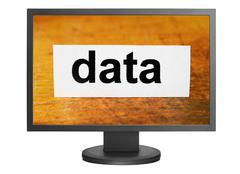 data - stock photo