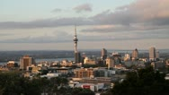 Stock Video Footage of Auckland early morning shot